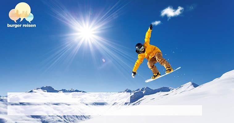 Individualisiertes Druckprodukt, Postkarte mit Snowboarder