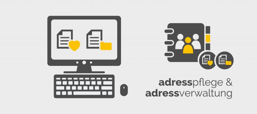 Adresspflege und Adressverwaltung