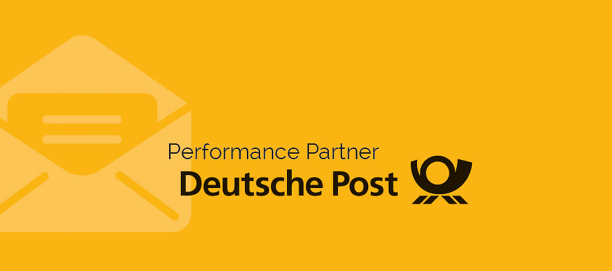 Lettershop ist Performance Partner Deutsche Post